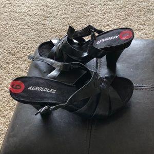 Aerosoles leather heels
